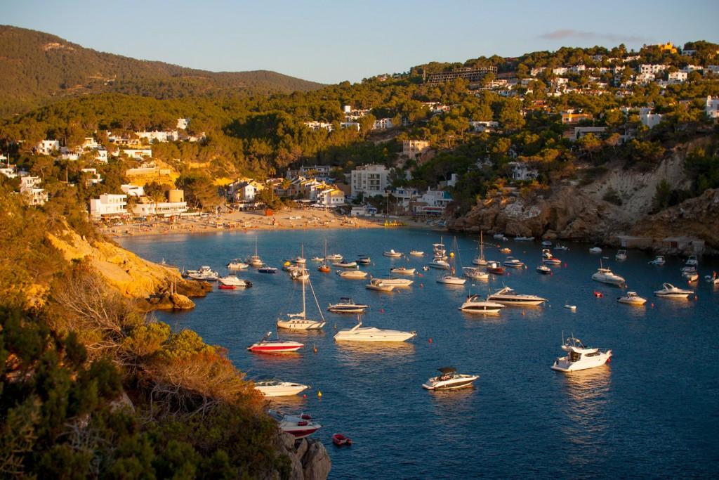 Diving route in Cala Vadella - Ibiza - Santjosep net