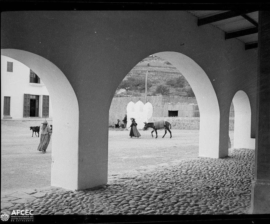 Entre els anys 1925 i 1935 Blasi Vallespinosa, Francesc. Arxiu fotogràfic Centre Excursionista de Catalunya