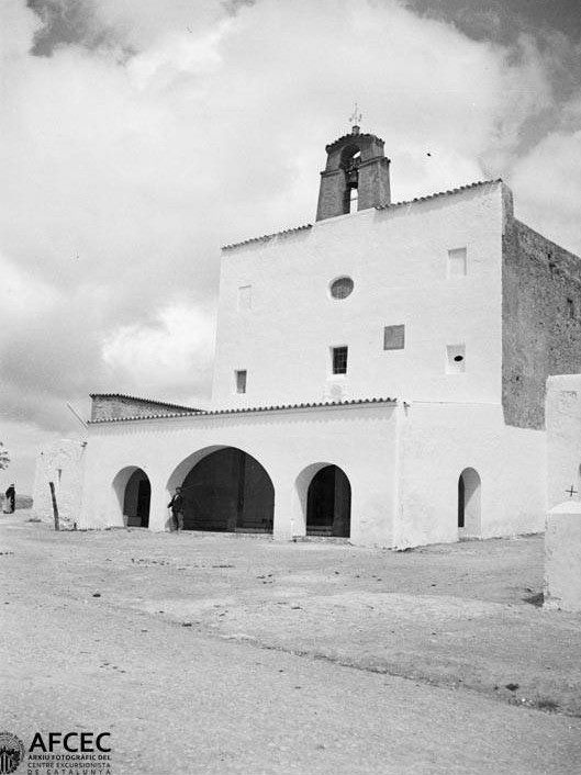 Església de Sant Josep. (1920-1925) Blasi Vallespinosa, Francesc. Arxiu fotogràfic Centre Excursionista de Catalunya.