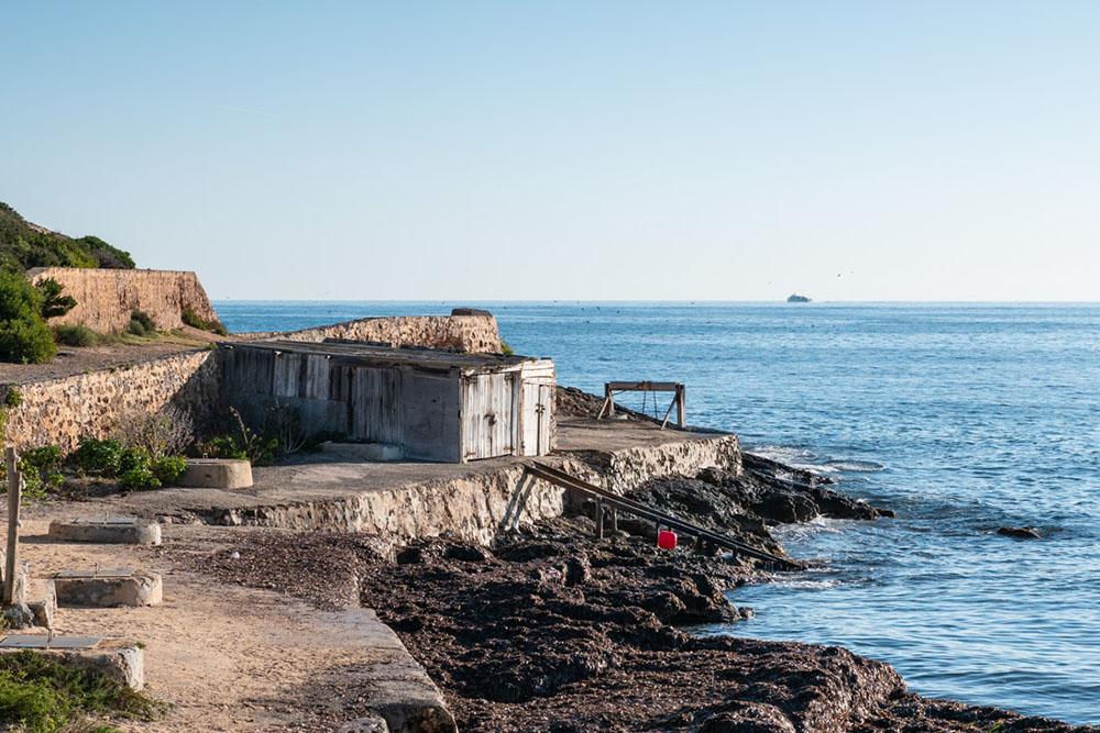 Caseta varadero en Es Cavallet - Ibiza