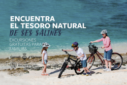 """Excursions en bici per a tota la família –  """"Troba el tresor natural de les Salines"""""""
