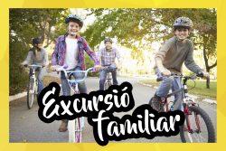 """Excursions en bici per a tota la família –  """"A la caça del tresor amb bicicleta"""""""
