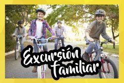 """Excursiones en bici para toda la familia –  """"A la caza del tesoro en bicicleta"""""""