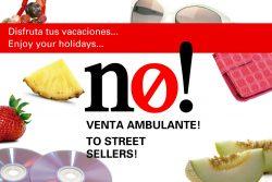 No a la venda ambulant!