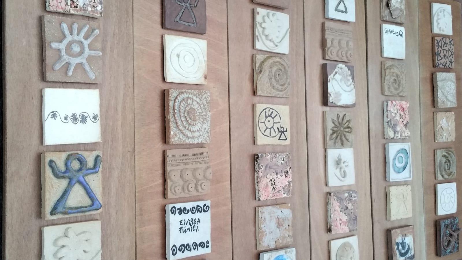 Exposición taller de cerámica en Can Jeroni